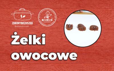 Żelki owocowe | @zdrowybrzuszek | www.radosneprzedszkole.pl