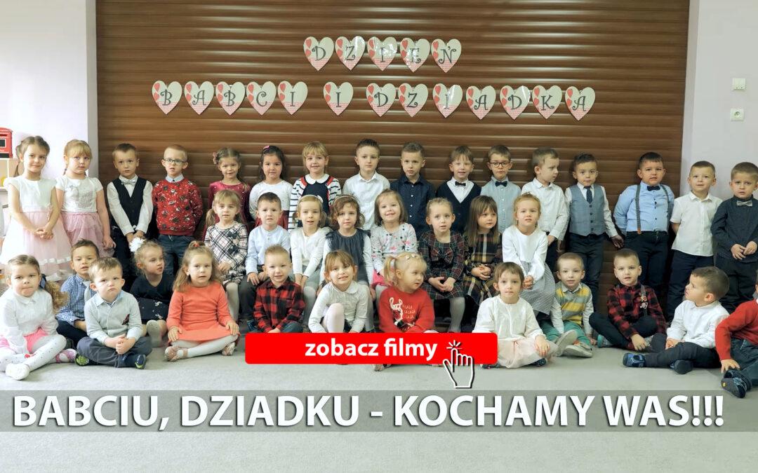 Dzień Babci i Dziadka 2021| www.radosneprzedszkole.pl